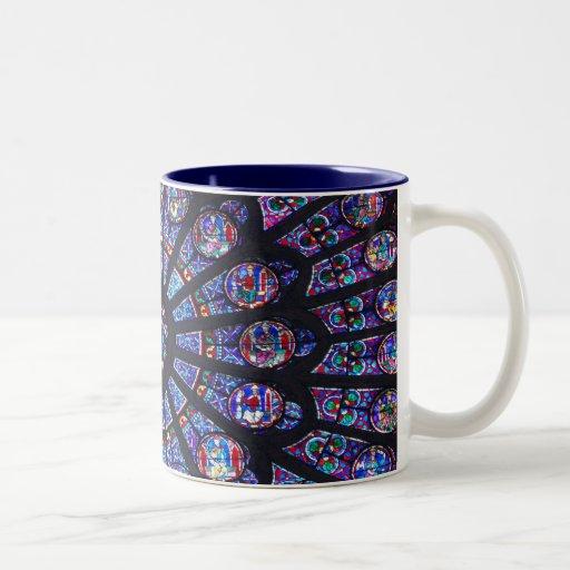 Rosen-Fenster Paris Tee Tasse