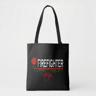 Rosen-Feuerwehrmann-Ehefrau Tasche