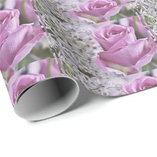 Rosen-Flieder Geschenkpapier