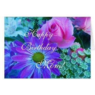 Rosen für Mamma: Alles Gute zum Geburtstagmamma! Karte