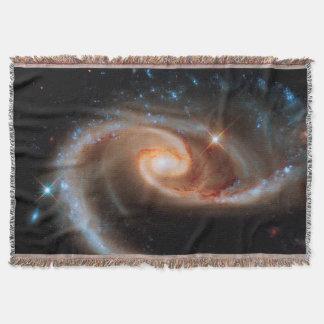 Rosen-Galaxien Hubble Arp 273 Weltraum-Foto Decke