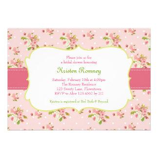 Rosen-Garten-Brautduschen-Baby-Duschen-Einladung