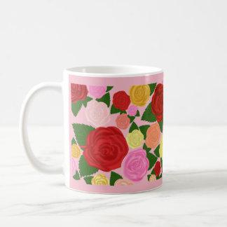 Rosen-Garten-Kaffee-Tasse Kaffeetasse