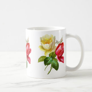 Rosen-gelbe Rose Kaffeetasse