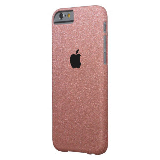Rosen-Gold Apples Iphone 6/6s funkelte Iphone Fall Barely There iPhone 6 Hülle