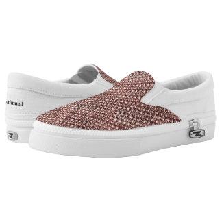 Rosen-GoldChainmail rosa Slip-On Sneaker