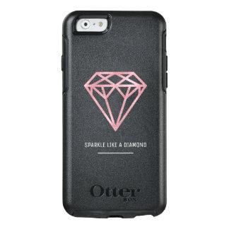 Rosen-Golddiamant OtterBox iPhone 6/6s Hülle