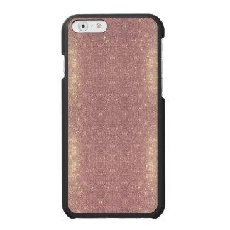 Rosen-Goldgalaxie-Imitat-Raum-Schein Incipio Watson™ iPhone 6 Geldbörsen Hülle