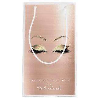 Rosen-GoldGlitter-Make-up peitscht Schönheits-Weiß Kleine Geschenktüte