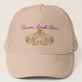 Rosen-Goldhut der Königin-Rockstar Truckerkappe