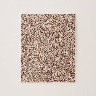 Rosen-GoldImitat-Glitter Puzzle