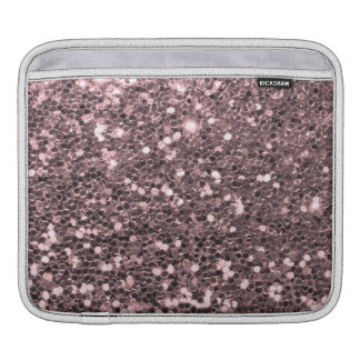 Rosen-GoldImitat-Glitzer-Glitzern iPad Sleeve
