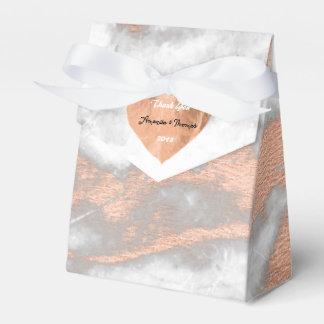 Rosen-Goldmarmor-Kupfer-Herz-16. Gastgeschenk Geschenkschachtel