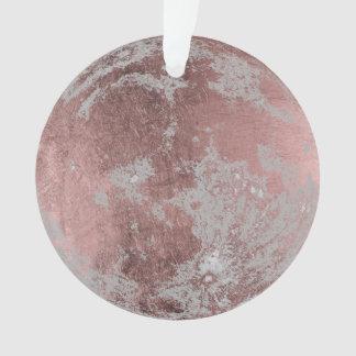 Rosen-Goldvollmond-Weihnachten Ornament