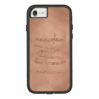 Rosen-Goldzauber-Liebe Case-Mate Tough Extreme iPhone 8/7 Hülle