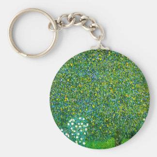 Rosen Gustav Klimt unter der Schlüsselanhänger