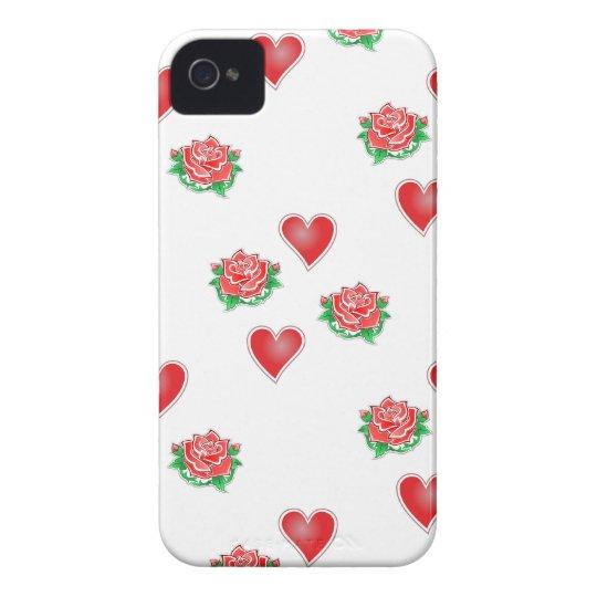 Rosen Herzen roses hearts Case-Mate iPhone 4 Hüllen