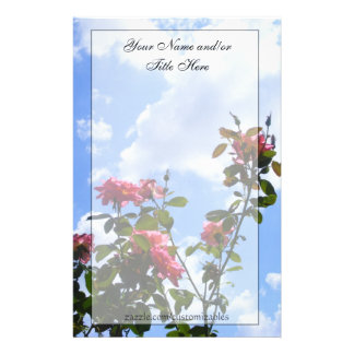 Rosen im Himmel-Briefpapier Briefpapier