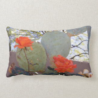 Rosen-Kaktus-Kissen Lendenkissen
