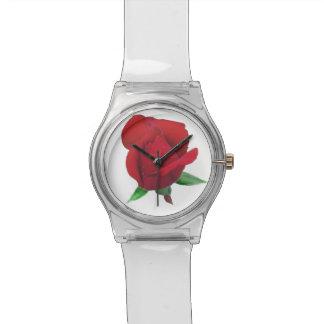 Rosen-Knospen-Damen-Uhr Armbanduhr