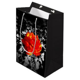 Rosen-kundenspezifische Geschenk-Tasche Mittlere Geschenktüte