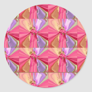 Rosen-Kunst-Feier-Reihe 2012 Runder Aufkleber