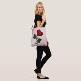 Rosen-Kuss-Rosa Tasche
