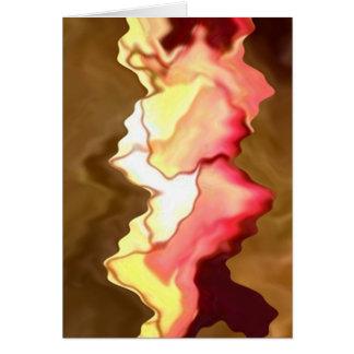 Rosen-Lächeln-Herzen - berührt durch einen Engel Karte