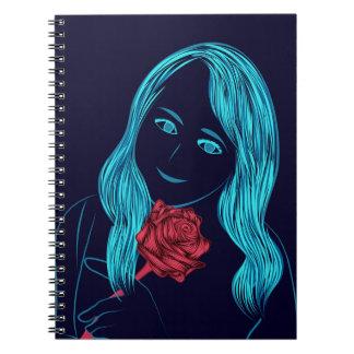 Rose Girl Notebook