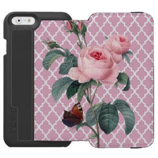 Rosen-Marokko-Rosa Incipio Watson™ iPhone 6 Geldbörsen Hülle