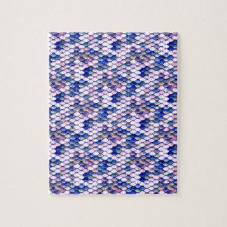 Rosen-Meerjungfrau-Geschichten-Muster Puzzle