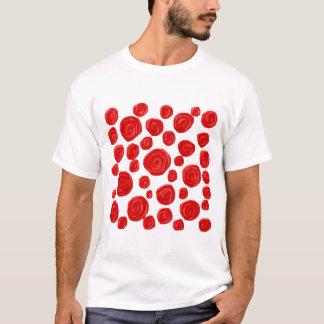 Rosen-Muster T-Shirt