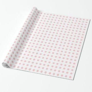 Rosen-Quarz-Polka-Punkt-Verpackungs-Papier Geschenkpapier