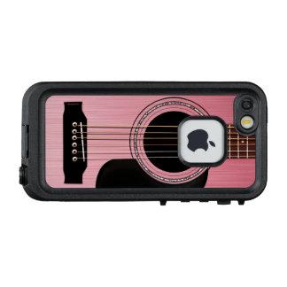 Rosen-rosa Akustikgitarre LifeProof FRÄ' iPhone SE/5/5s Hülle