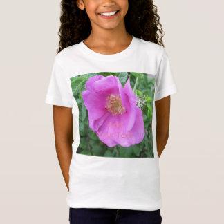 Rosen-rosa Strand-Pflaume T-Shirt