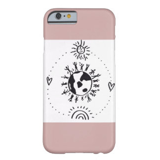 Rosen-rosa unbedingter Liebe-Fall Barely There iPhone 6 Hülle