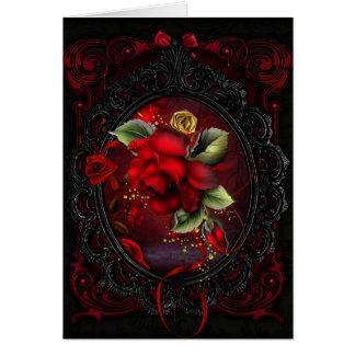 Rosen-Rot Karte
