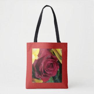 Rosen, Rot und Gelb Tasche