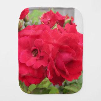 Rosen-Rouge Fleur Baby Spucktuch