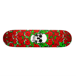 Rosen-SchädelSkateboard Skateboard