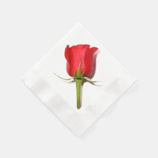 Rosen-Servietten Papierservietten