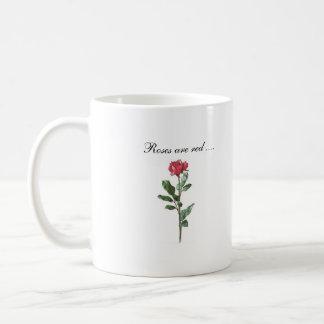 Rosen sind… rot tasse