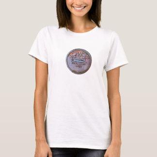 Rosen-Stadt-Abfluss-Abdeckung T-Shirt
