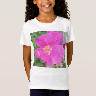 Rosen-Strand-Pflaumen-Rosa T-Shirt