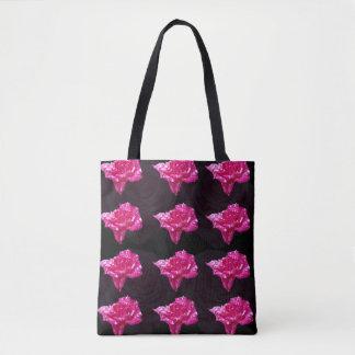 Rosen-Süßigkeit, volle Druck-Einkaufstasche Tasche