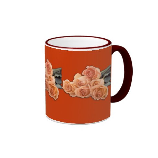 Rosen Kaffee Tasse