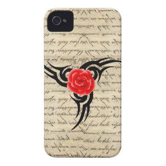 Rosen-Tätowierung Case-Mate iPhone 4 Hüllen