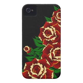 Rosen-Tätowierung Case-Mate iPhone 4 Hülle