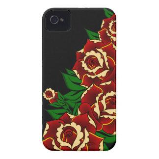 Rosen-Tätowierung iPhone 4 Cover