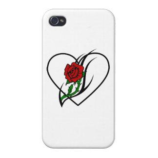 Rosen-Tätowierung Schutzhülle Fürs iPhone 4